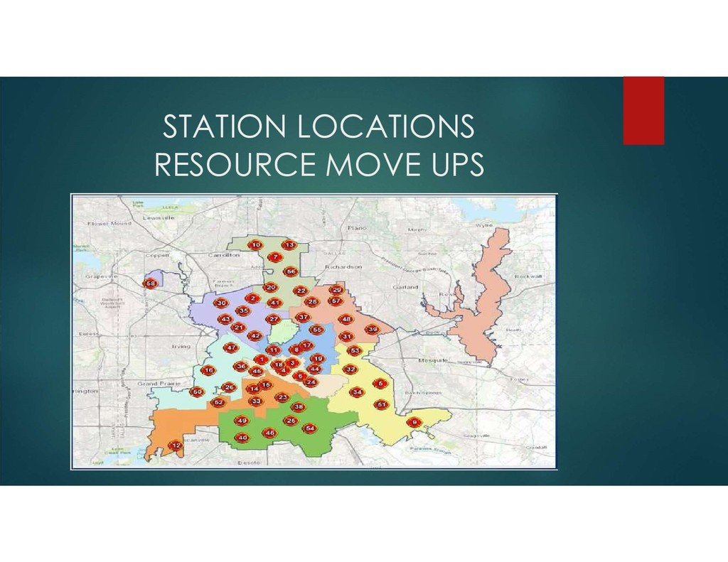 STATION LOCATIONS RESOURCE MOVE UPS