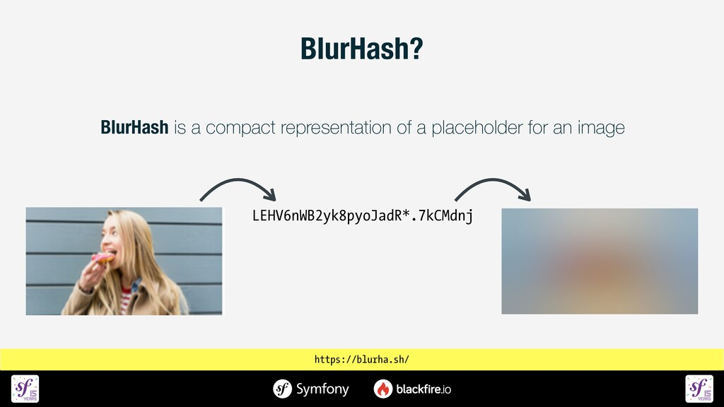 BlurHash is a compact representation of a place...