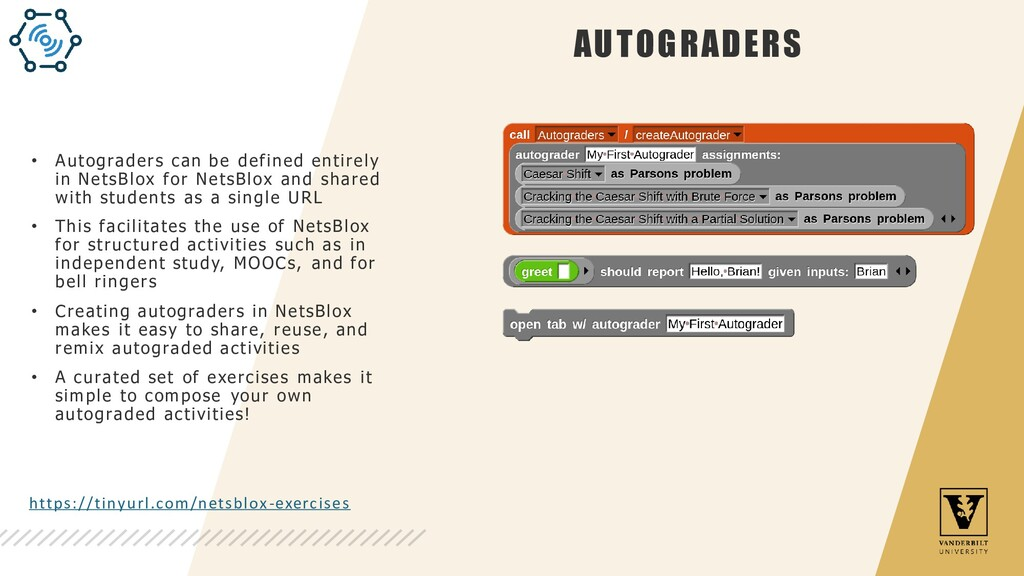 AUTOGRADERS • Autograders can be defined entire...