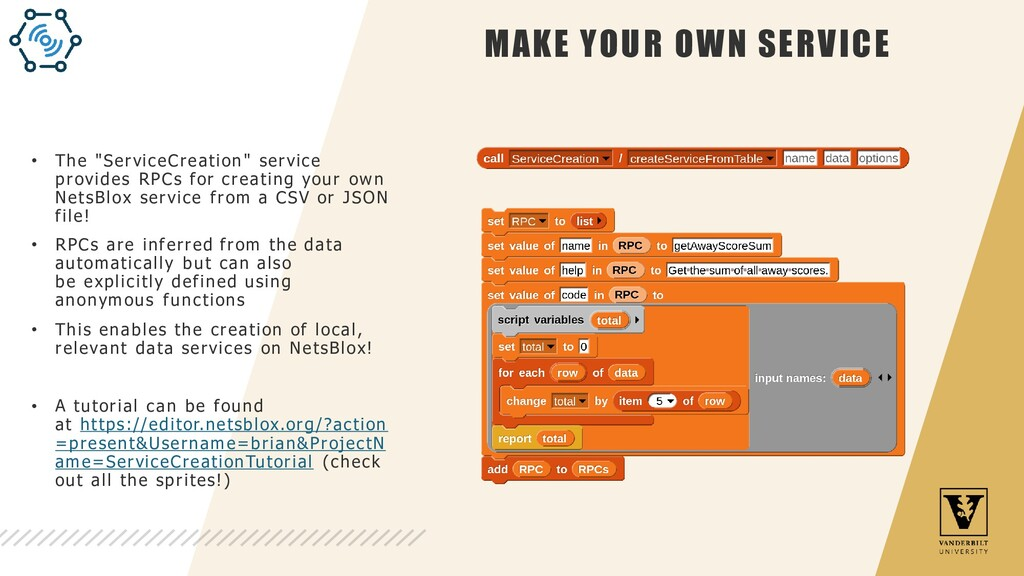 """MAKE YOUR OWN SERVICE • The """"ServiceCreation"""" s..."""