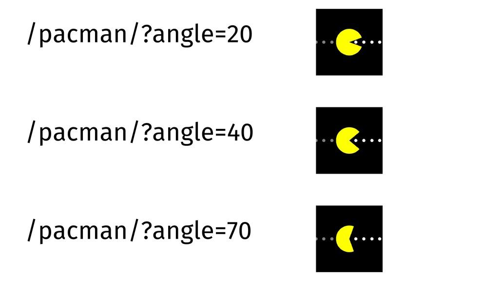 /pacman/?angle=20 /pacman/?angle=40 /pacman/?an...