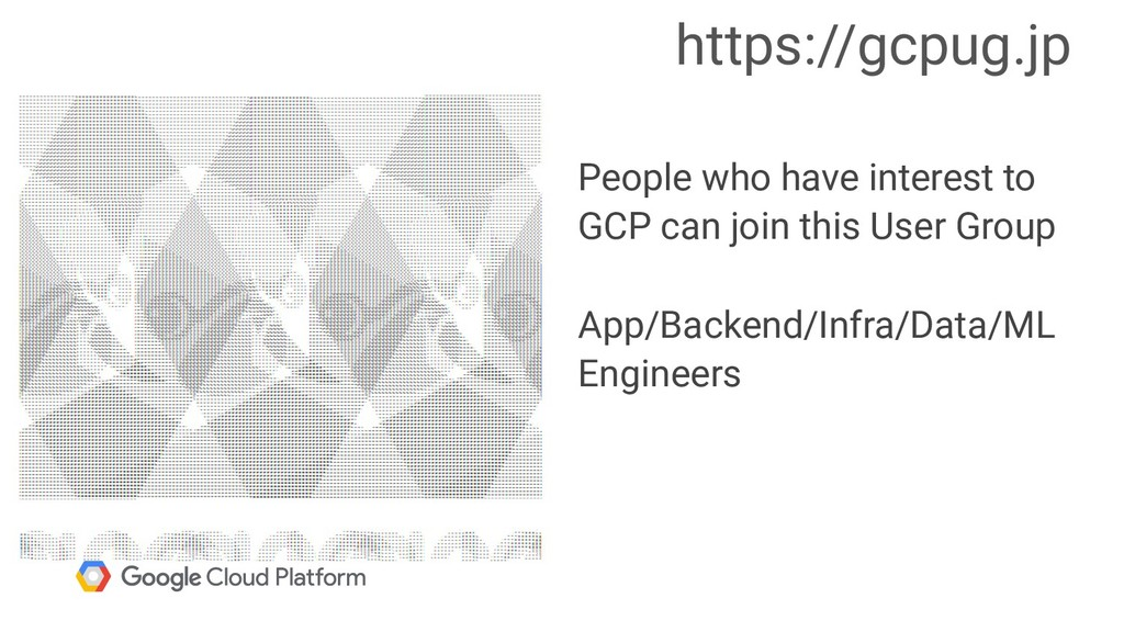 People who have interest to GCP can join this U...