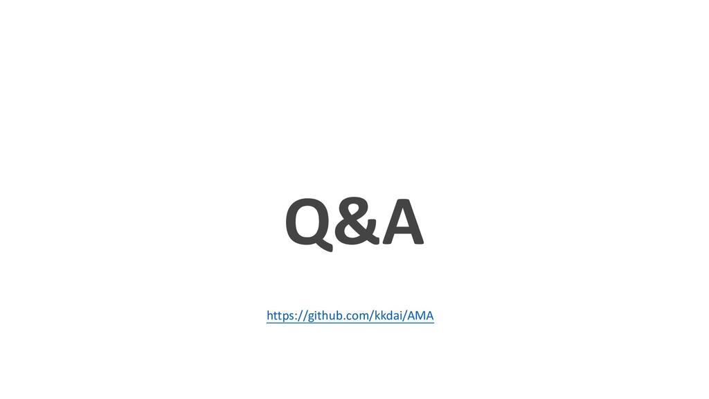 Q&A https://github.com/kkdai/AMA
