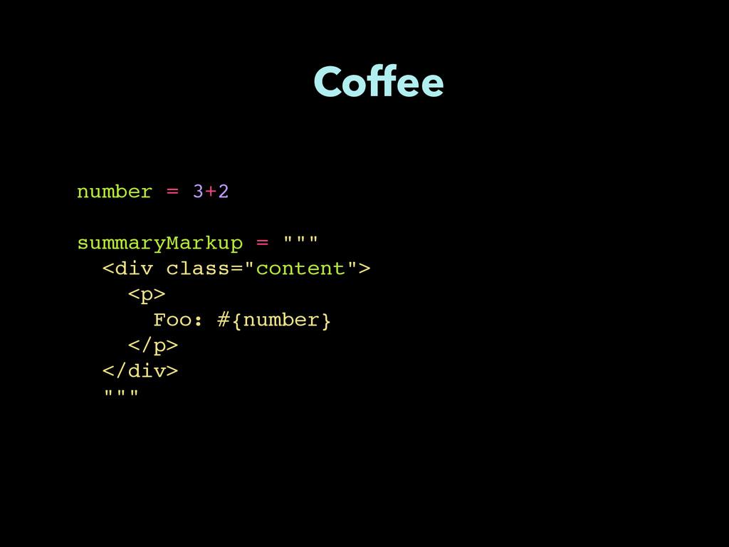 "number = 3+2! ! summaryMarkup = """"""! <div class..."