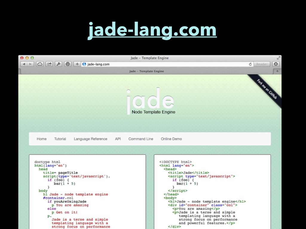 jade-lang.com