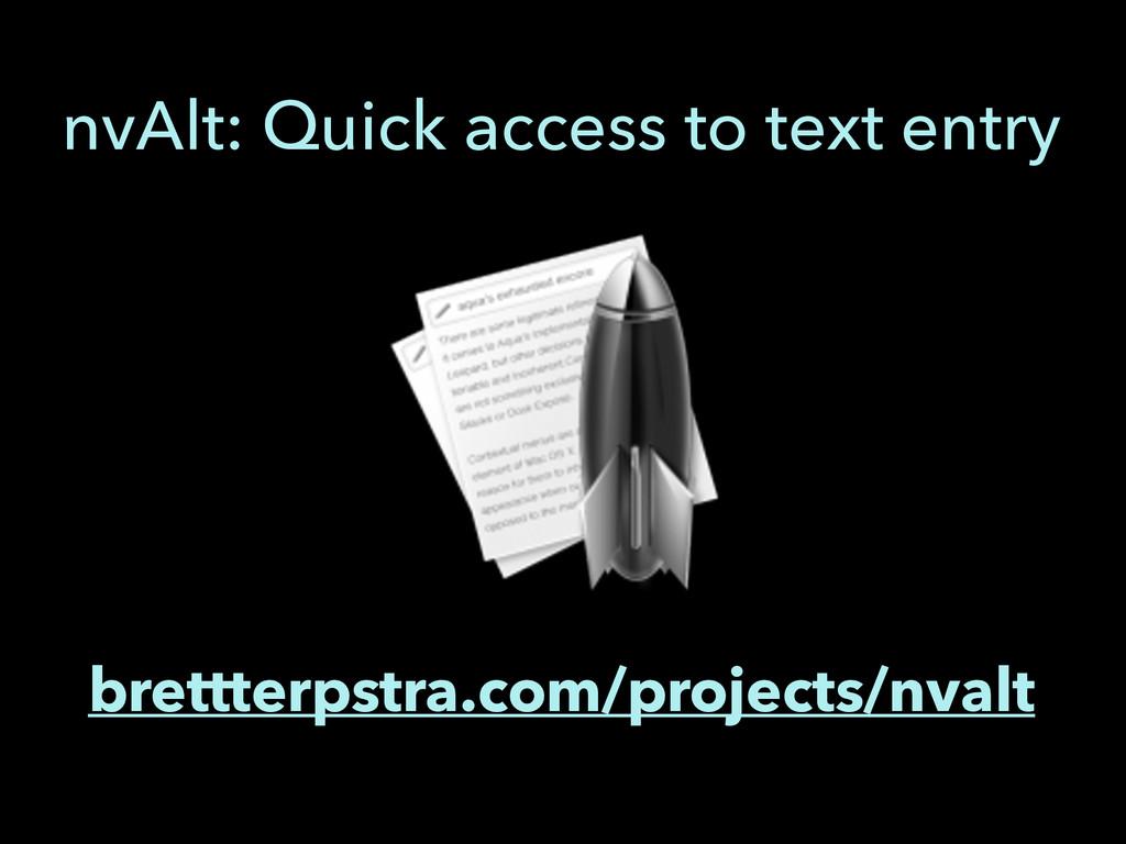 brettterpstra.com/projects/nvalt nvAlt: Quick a...