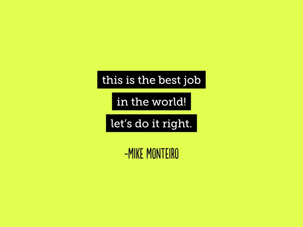 this is the best job in the world! let's do it ...
