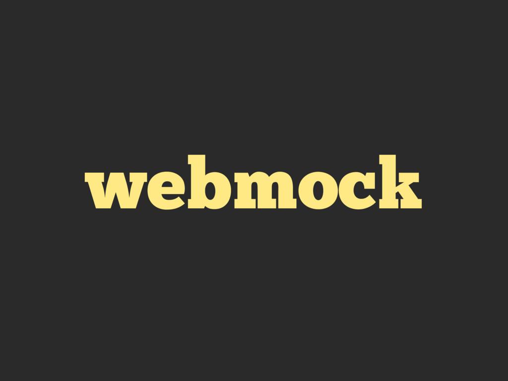 webmock