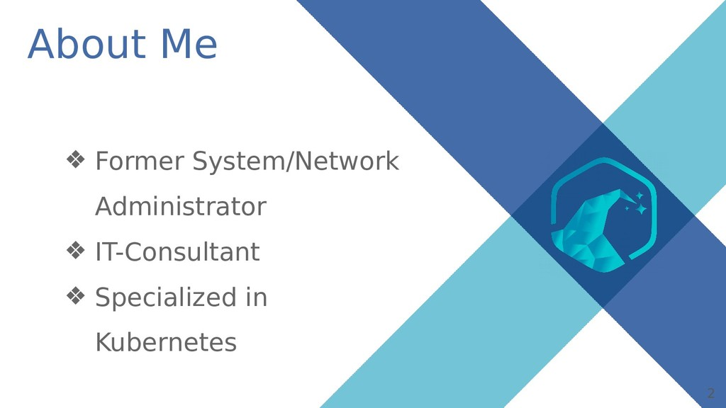 2 About Me ❖ Former System/Network Administrato...