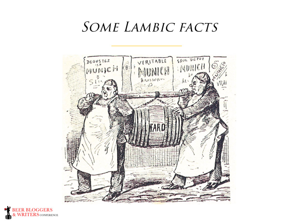 Some Lambic facts