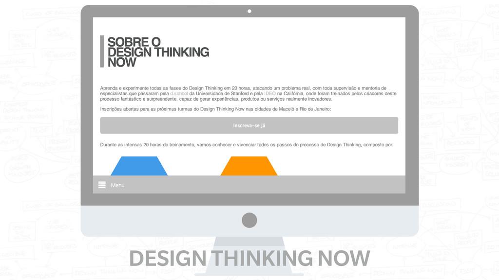 DESIGN THINKING NOW