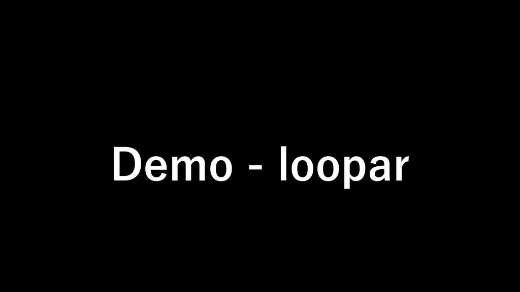 Demo - loopar