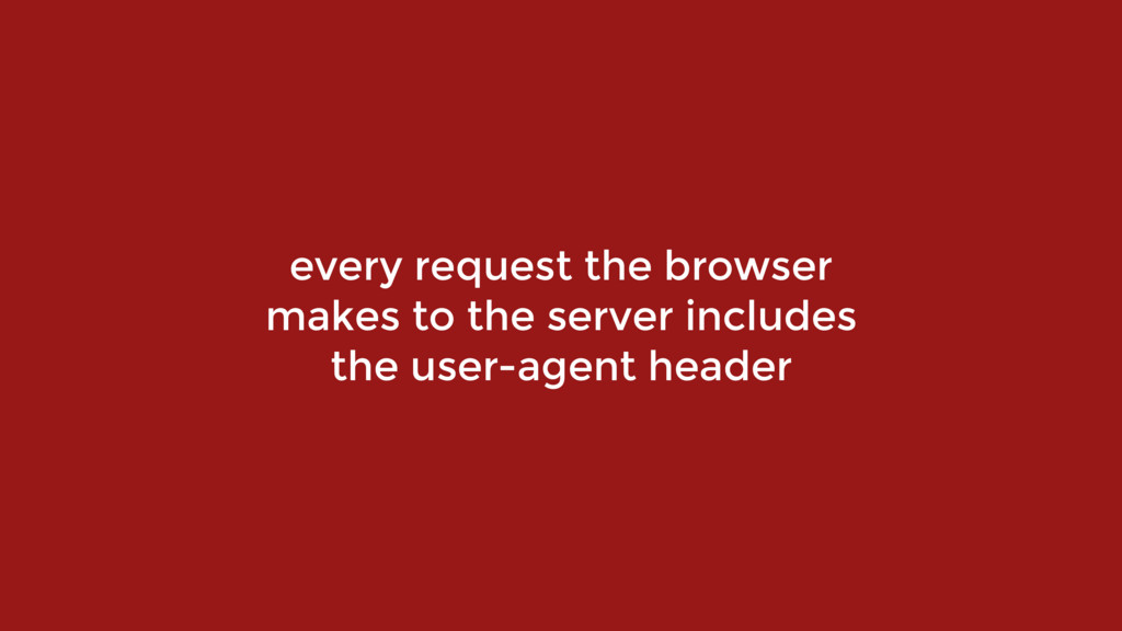 every request the browser makes to the server i...