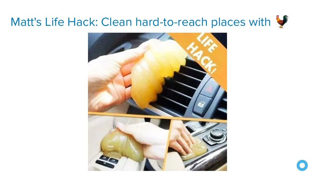 Matt's Life Hack: Clean hard-to-reach places wi...