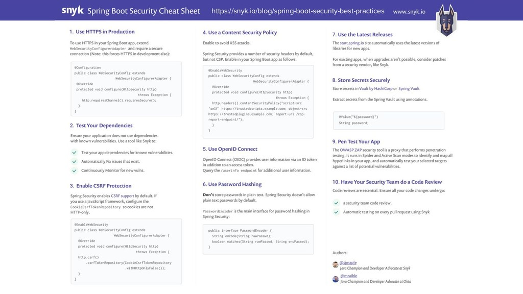 https://snyk.io/blog/spring-boot-security-best-...