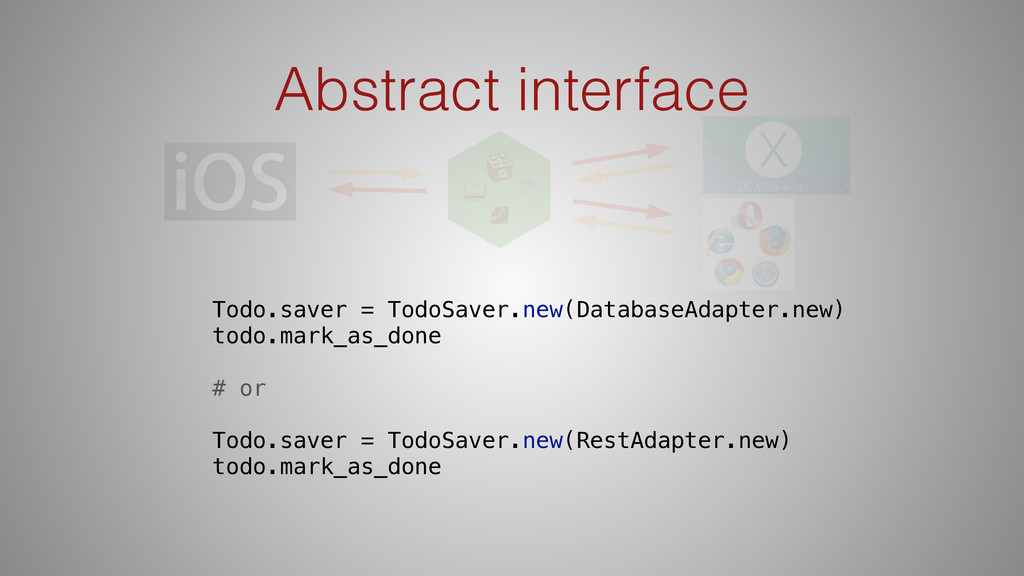Abstract interface Todo.saver = TodoSaver.new(D...
