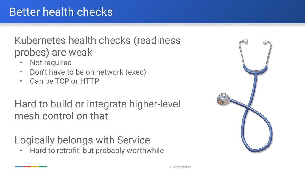Google Cloud Platform Kubernetes health checks ...