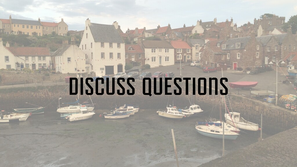 discuss questions
