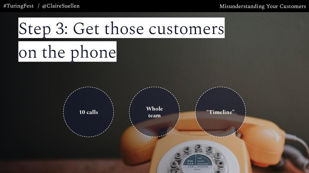 Misunderstanding Your Customers #TuringFest / @...