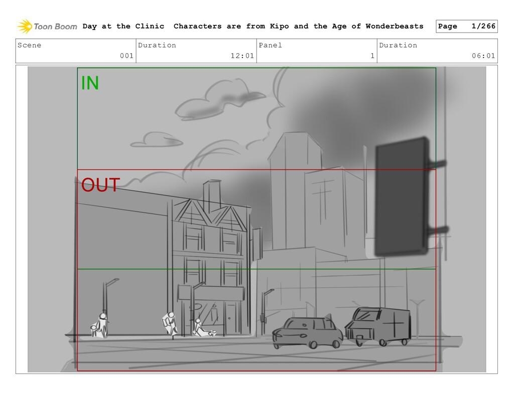 Scene 001 Duration 12:01 Panel 1 Duration 06:01...