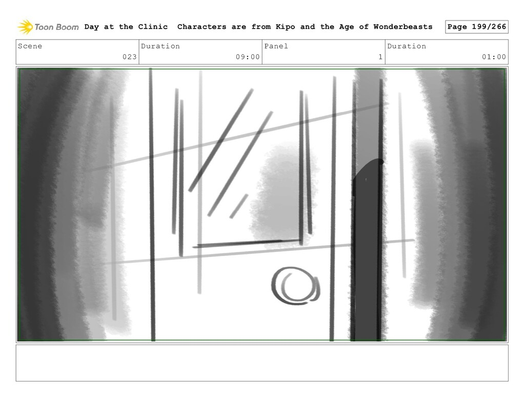 Scene 023 Duration 09:00 Panel 1 Duration 01:00...