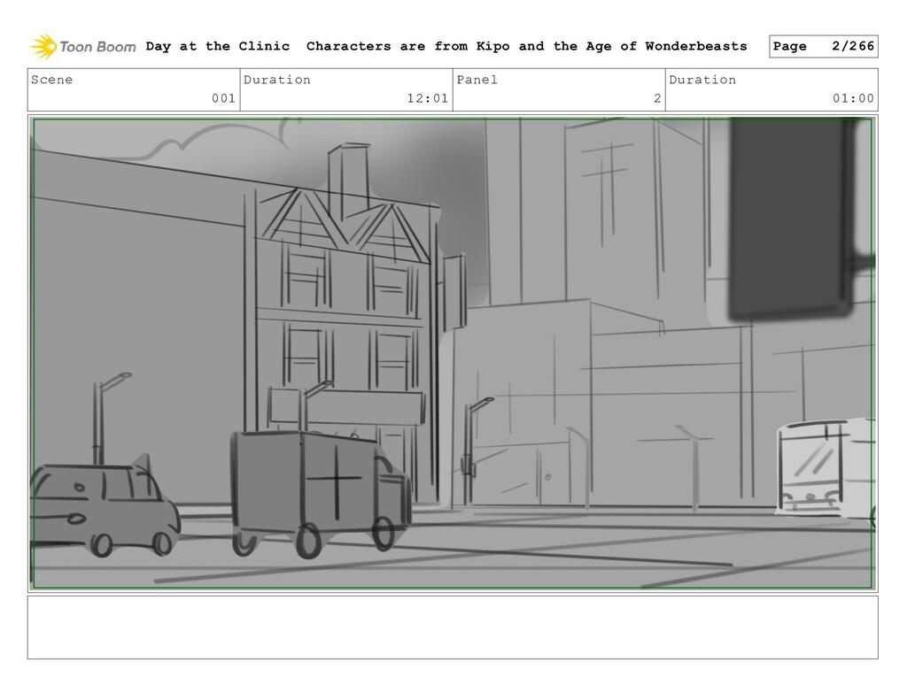 Scene 001 Duration 12:01 Panel 2 Duration 01:00...