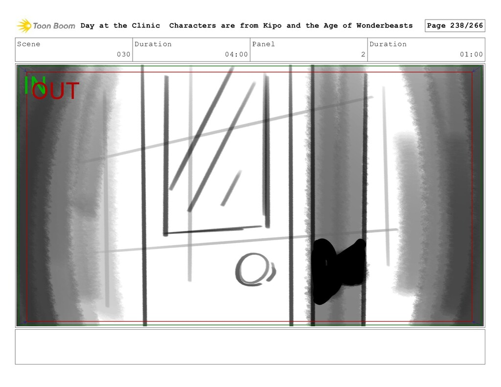Scene 030 Duration 04:00 Panel 2 Duration 01:00...