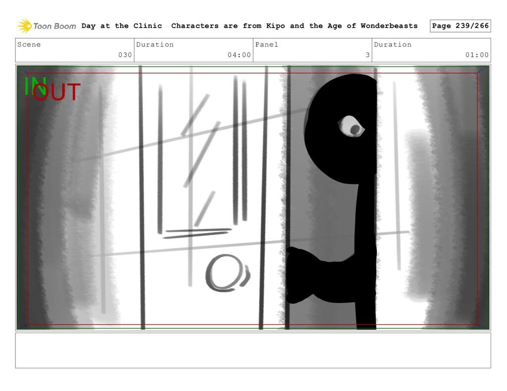 Scene 030 Duration 04:00 Panel 3 Duration 01:00...