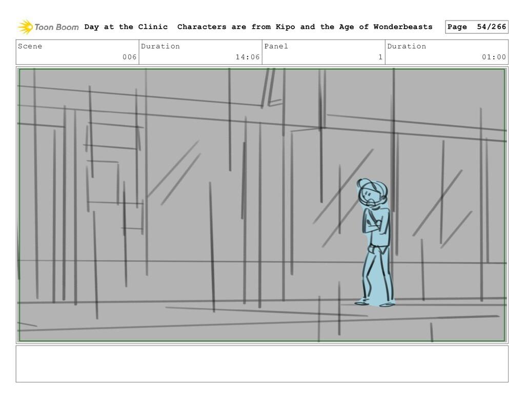 Scene 006 Duration 14:06 Panel 1 Duration 01:00...