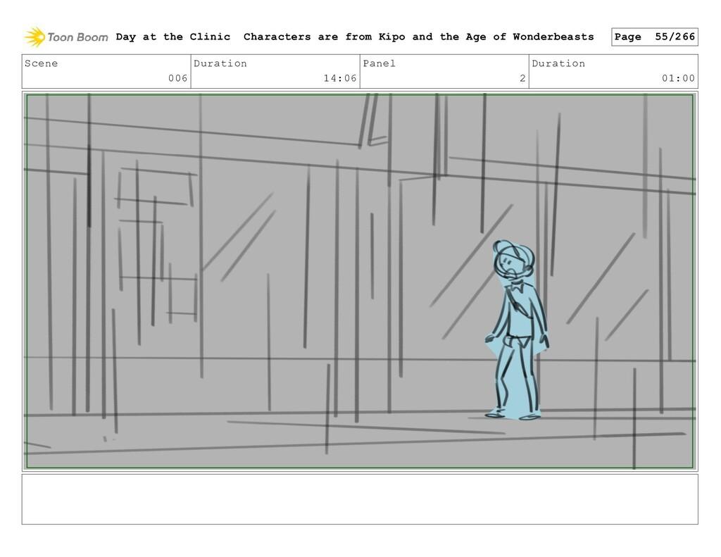 Scene 006 Duration 14:06 Panel 2 Duration 01:00...