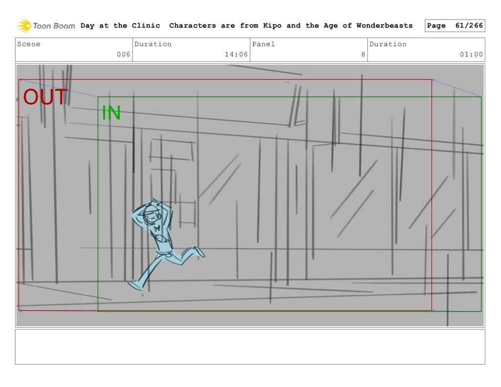 Scene 006 Duration 14:06 Panel 8 Duration 01:00...
