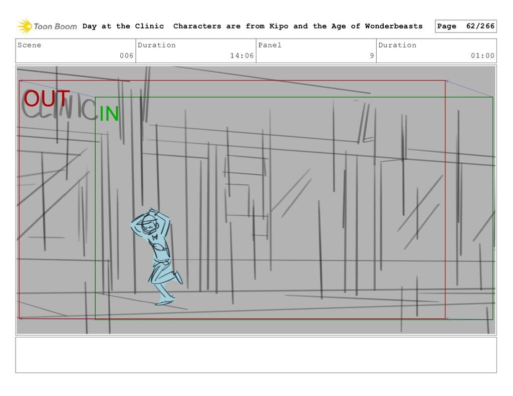 Scene 006 Duration 14:06 Panel 9 Duration 01:00...