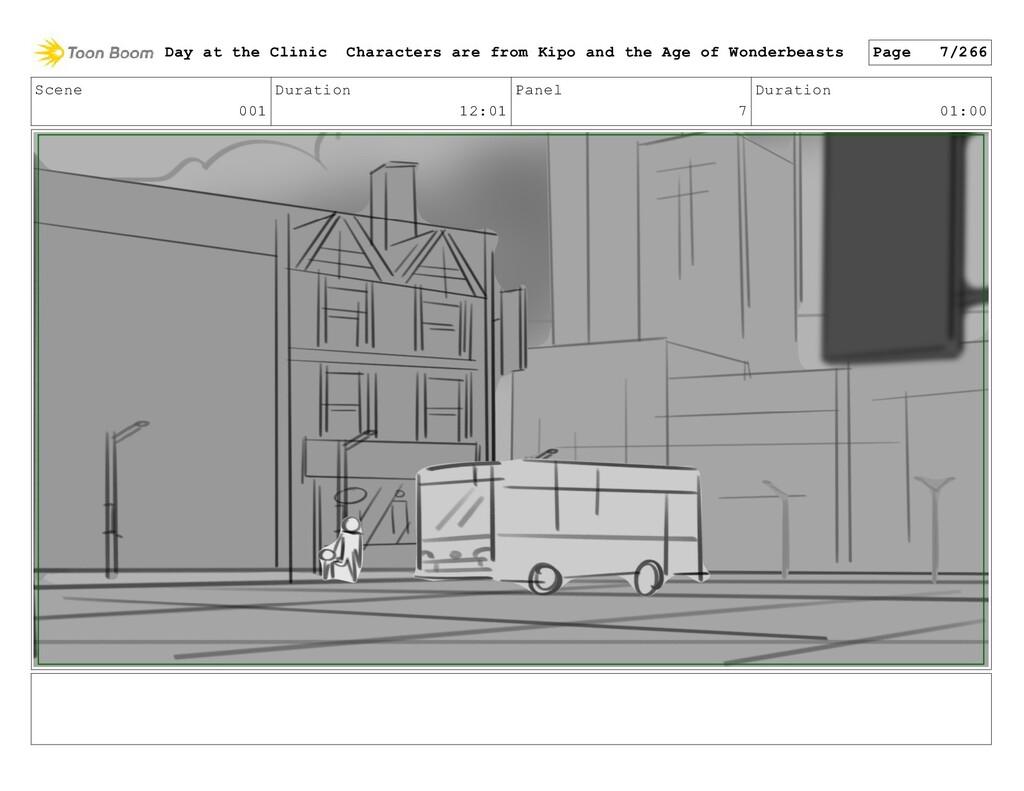 Scene 001 Duration 12:01 Panel 7 Duration 01:00...