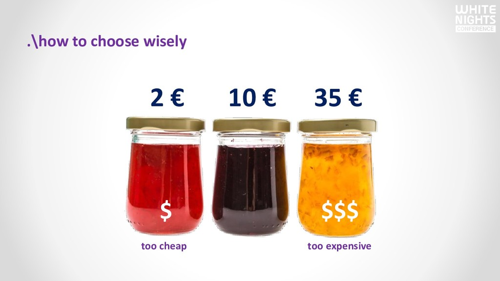 .\how to choose wisely too cheap too expensive ...