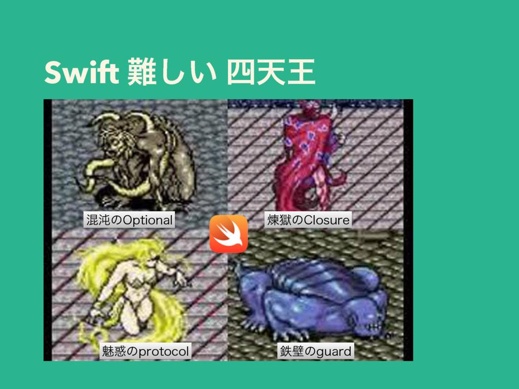 Swift ͍͠ ఱԦ Ẃࠈͷ$MPTVSF మนͷHVBSE ࠞಱͷ0QUJPOBM ັ...