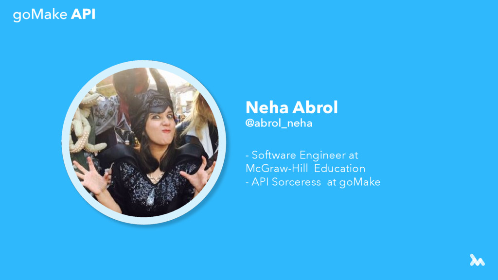 Neha Abrol @abrol_neha - Software Engineer at M...