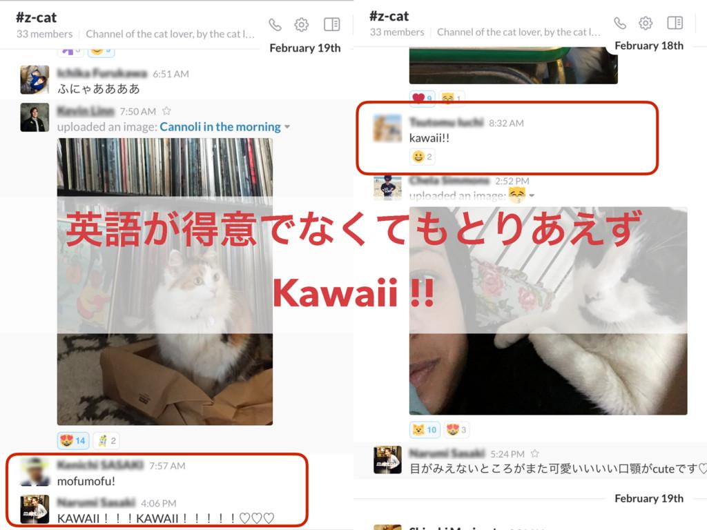 ӳޠ͕ಘҙͰͳͯ͘ͱΓ͋͑ͣ Kawaii !!