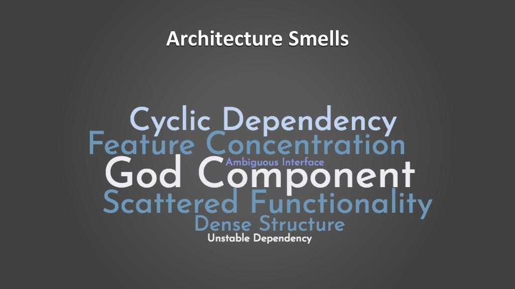 Architecture Smells