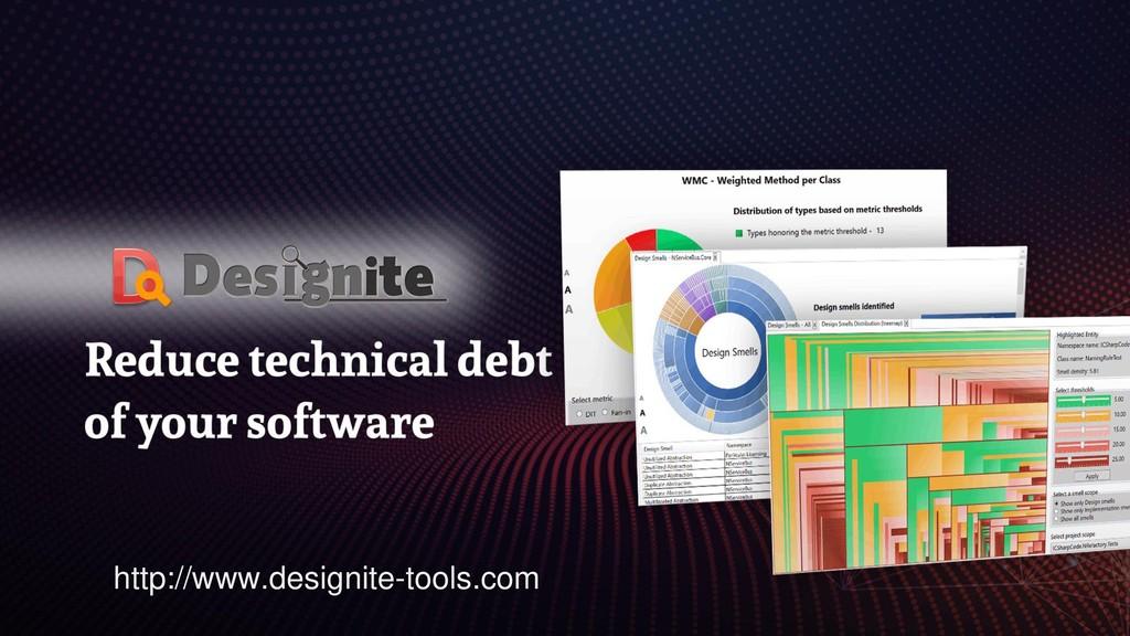 Demo http://www.designite-tools.com