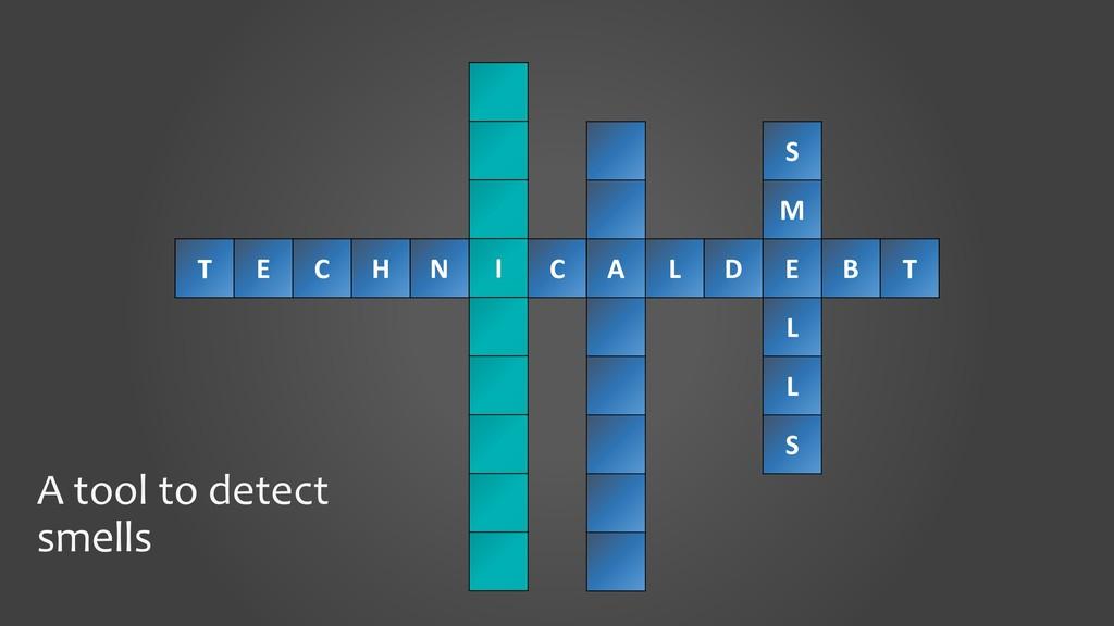 T E C H N II C A L D E B T A tool to detect sme...