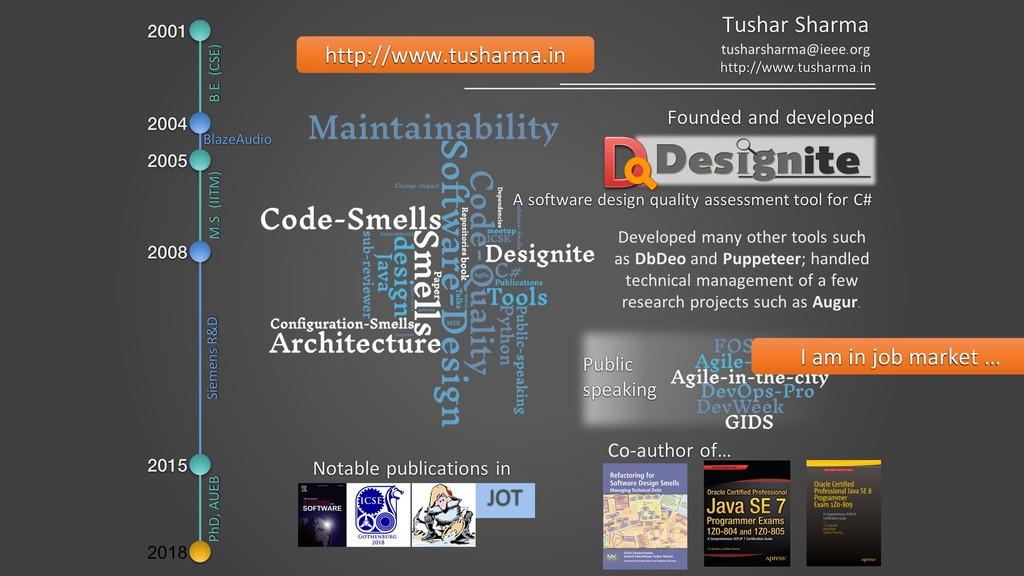 http://www.tusharma.in I am in job market …