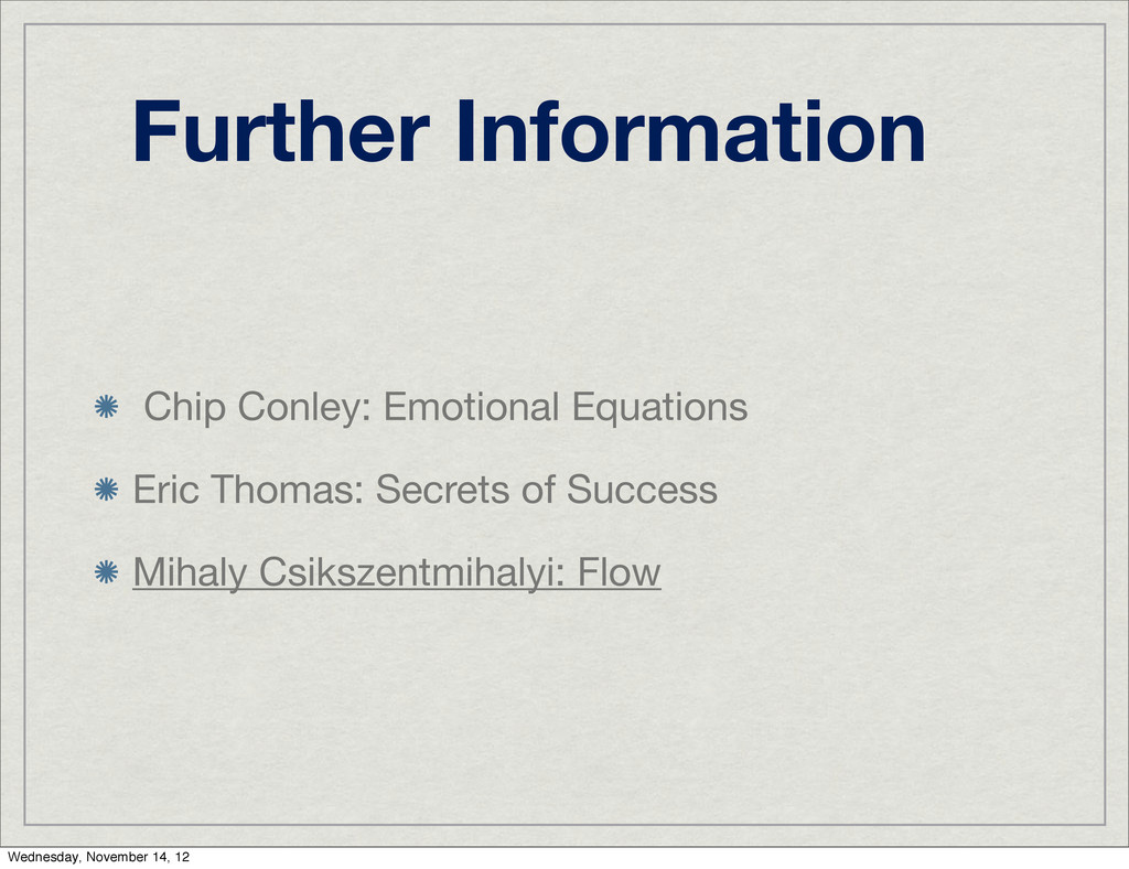 Further Information Chip Conley: Emotional Equa...