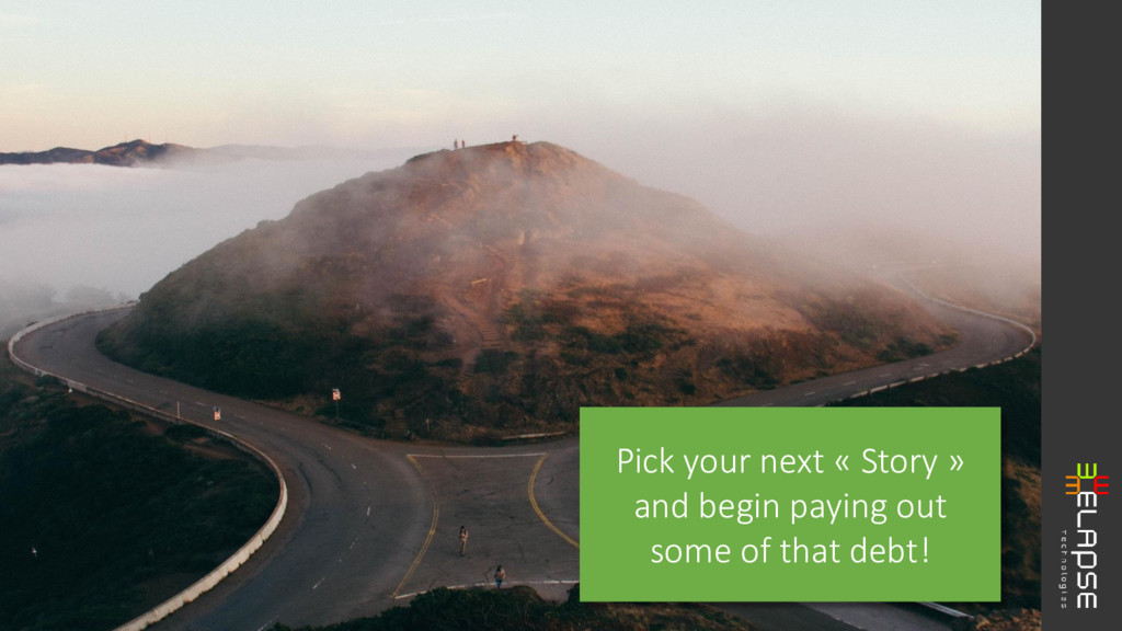 Pick your next « Story » and begin paying out s...