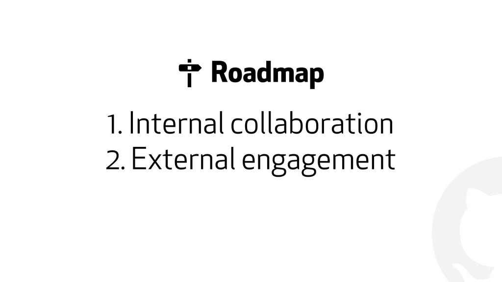 ! 1. Internal collaboration 2. External engagem...