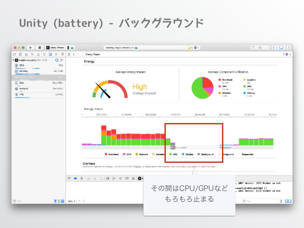 Unity (battery) - バックグラウンド ͦͷؒ$16(16ͳͲ ΖΖࢭ...