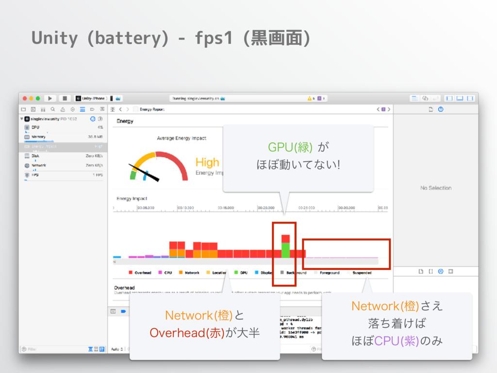 Unity (battery) - fps1 (黒画面) (16  ͕ ΄΅ಈ͍ͯͳ͍...