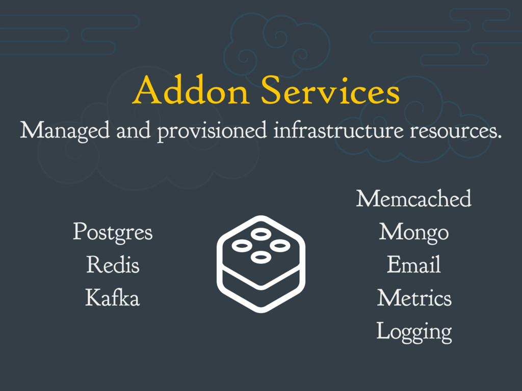 Addon Services Managed and provisioned infrastr...