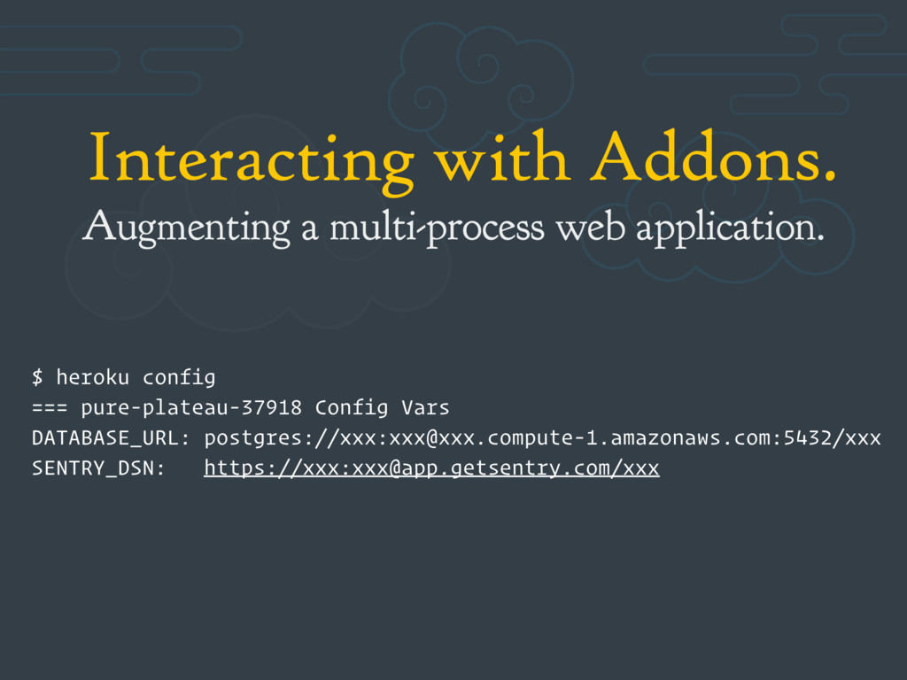 Interacting with Addons. Augmenting a multi-pro...