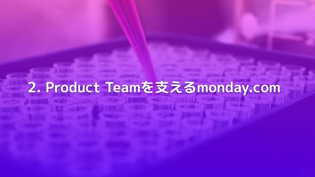 2. Product Teamを支えるmonday.com