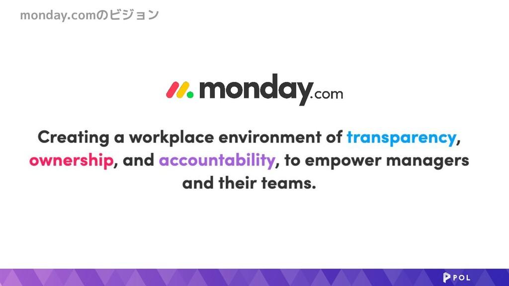monday.comのビジョン